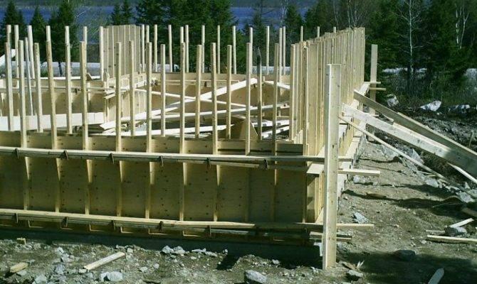 Build Cement Basement Foundation Forms Plans