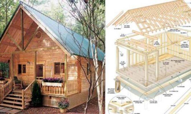 Build Cozy Cabin Under Home Design