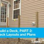 Build Deck Part Simple Layouts Plans Youtube