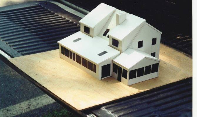 Build Foam Core Model Before Building House