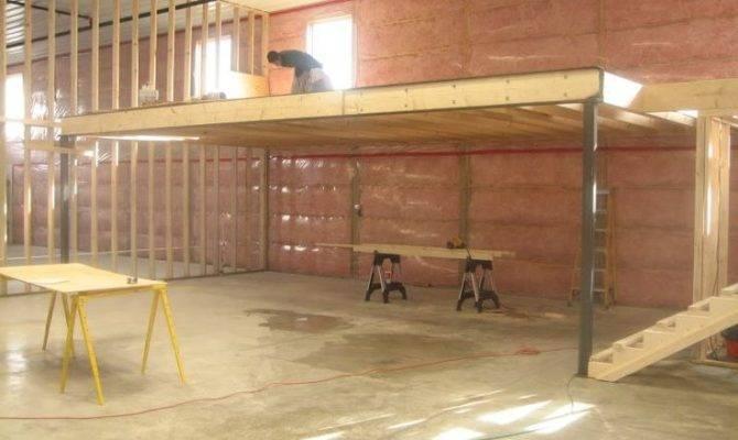 Build Garage Storage Loft Photos Home