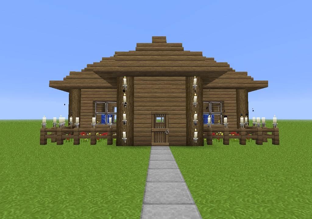Build House Minecraft Modern Home Plans Blueprints 64022