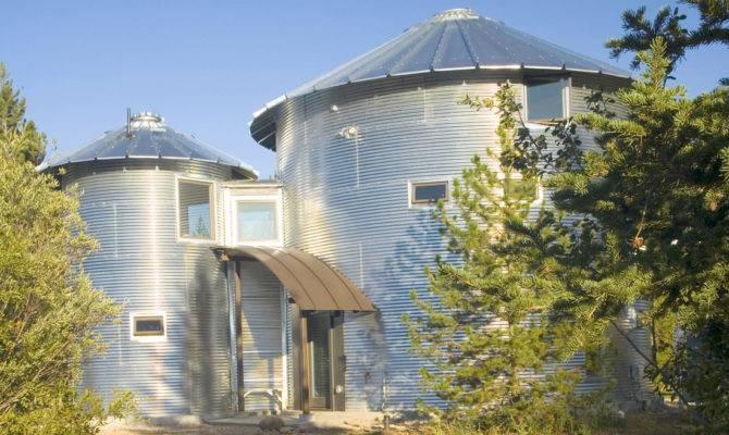 Build Inexpensive Home Using Grain Silos Idesignarch