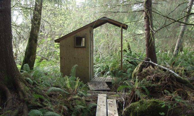 Build Modern Day Outhouse Off Grid News
