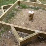Build Octagonal Deck Finish Foundation