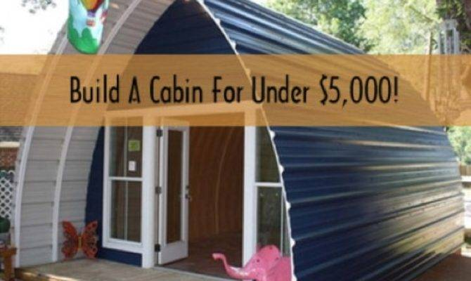 Build Off Grid Cabin Budget Homestead