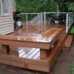 Build Wooden Deck Outdoor Building Decks