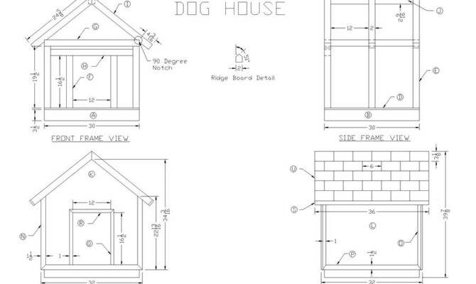 Build Wooden Dog House Woodworking Plans Lee Wood Projects