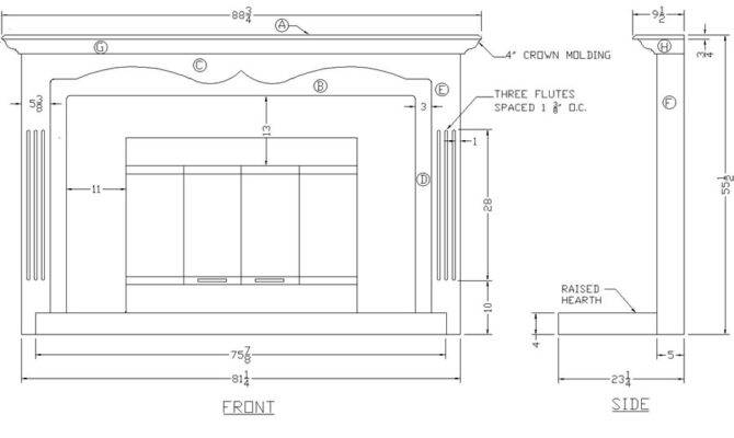 Building Fireplace Mantle Pdf Woodworking