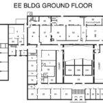 Building Ground Floor Map Electrical Computer Engineering