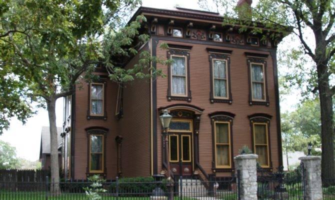 Building Language Italianate Historic Indianapolis
