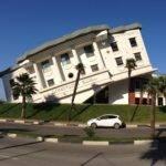 Building Looks Like Upside Down White House