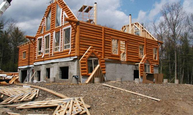 Building New Home Can Buying House Homes Builders Log