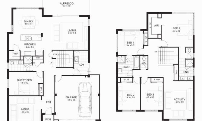 Building Plans Homes Unique Inspiring Two Storey