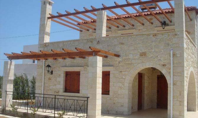 Building Styles Traditional Cretan Homes Stone
