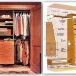 Built Closet Plans Woodarchivist