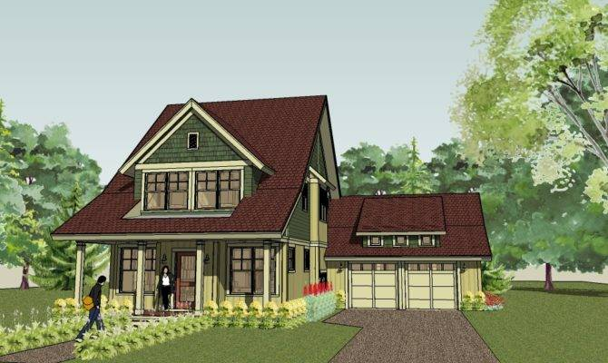 Bungalow Cottage Plans Floor