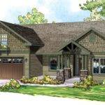 Bungalow Craftsman European Ranch House Plan Here