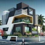 Bungalow Design Rendering Contemporary
