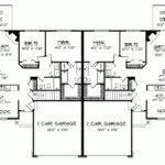 Bungalow Duplex House Plans