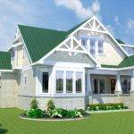 Bungalow Home Arts Crafts Interiors Animation Fly Thru
