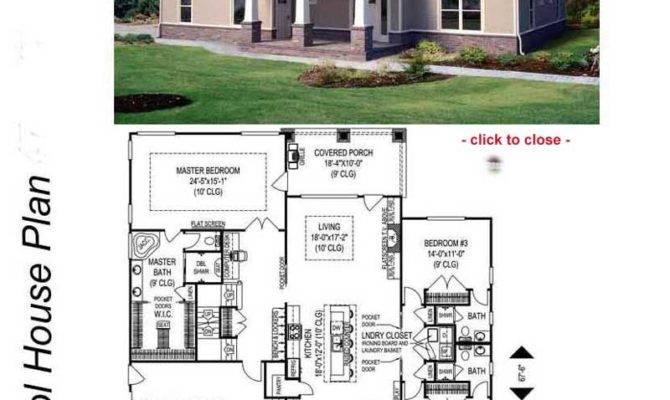 Bungalow House Design Floor Plan Home Deco Plans