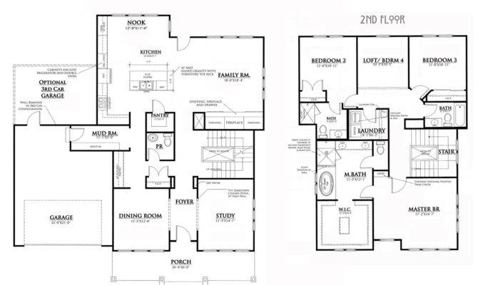 Bungalow House Floor Plans
