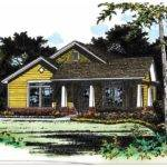 Bungalow House Plan Cozy Charmer Square Feet Bedrooms