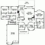Bungalow House Plan Four Bedroom Square Feet
