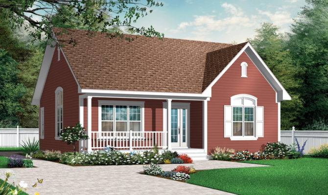 Bungalow House Plan Front Home Plans More