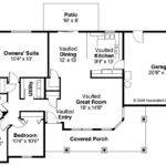 Bungalow House Plan Strathmore Floor
