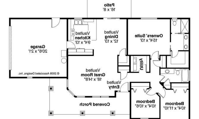 Bungalow House Plan Strathmore Floor