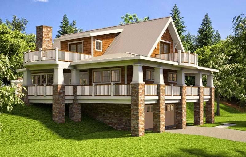 Bungalow House Plans Basement Garage, Home Plans With Basement Garage