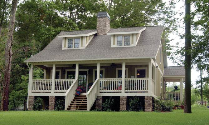 Bungalow House Plans Cabin Cottage Country