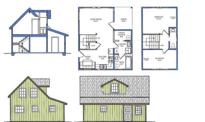 Bungalow House Plans Craftsman Green Home