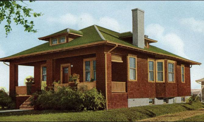 Bungalow House Plans Hip Roof Cottage
