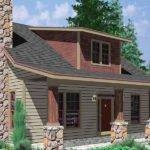 Bungalow House Plans Large Porch Story