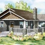 Bungalow House Plans Lone Rock Associated Designs