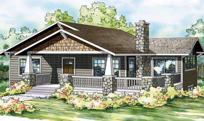 Bungalow House Plans One Story Floor