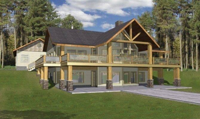 Bungalow House Plans Walkout Basement Best