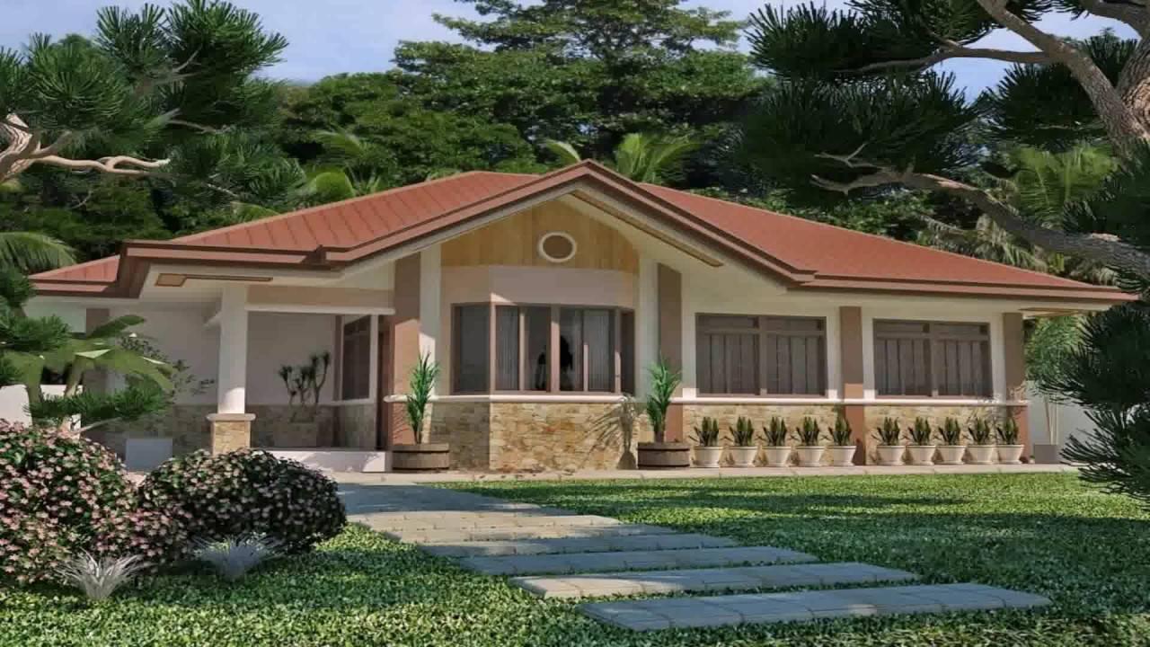 Bungalow House Roof Design Youtube Home Plans Blueprints 155695