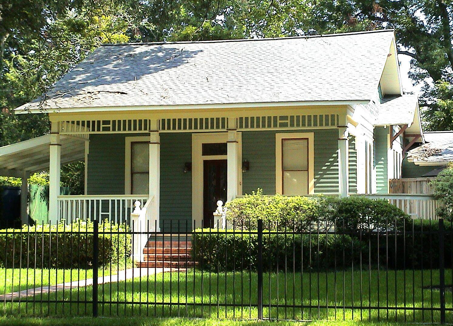 Bungalow Houston Wikimedia Commons