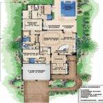 Bungalow Narrow Lot House Plan Beach