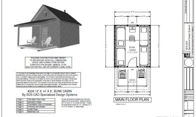 Bunk Cabin Plan House Reviews
