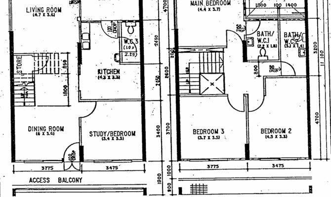 Butterpaperstudio Reno Maisonette Original Floorplan