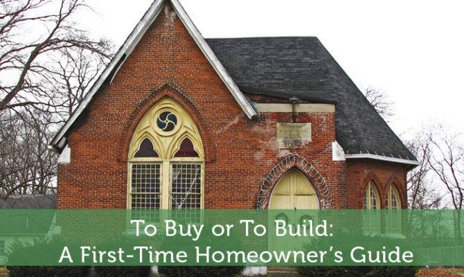 Buy Build First Time Homeowner Guide