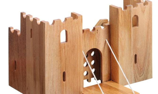 Buy Small World Natural Wooden Castle Tts