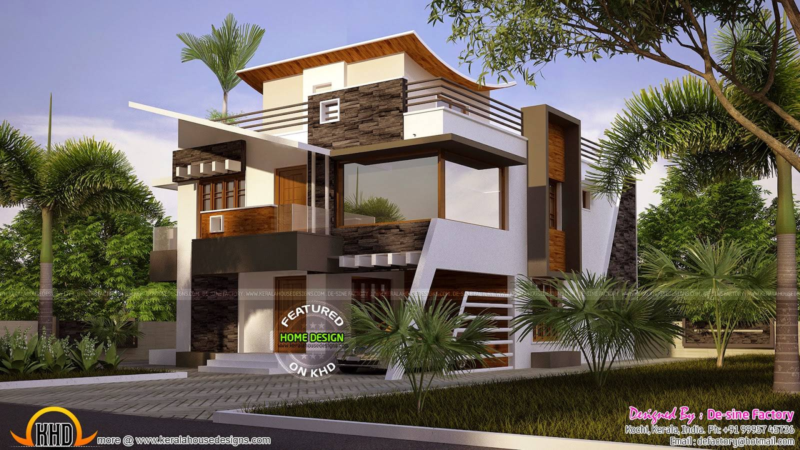 Buzz Floor Plan Ultra Modern House Kerala Home Design ...