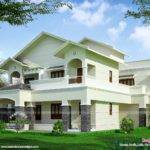 Buzz Modern Sloped Roof Luxury House Kerala Home Design