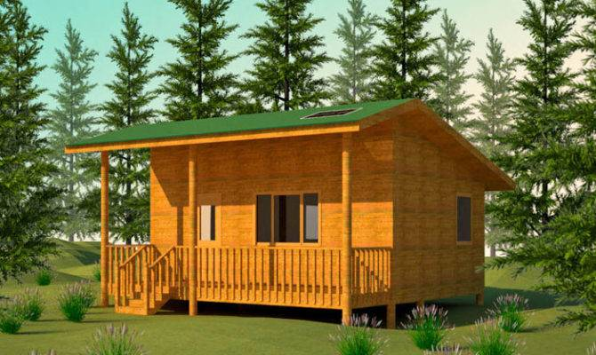 Cabin Cottage Building Plans